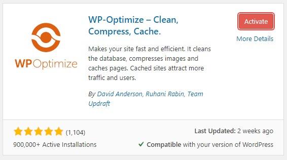 optimizing your wordpress database