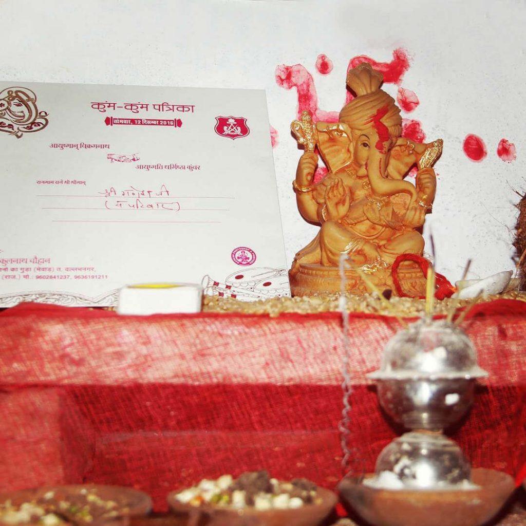1 ganapati sthapna in wedding