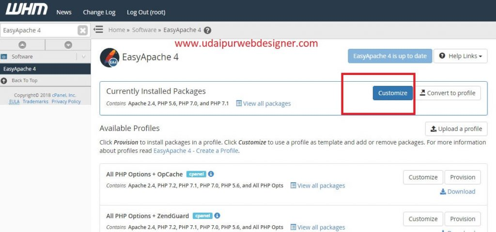 PHP ZipArchive module must be installed WHM Problem