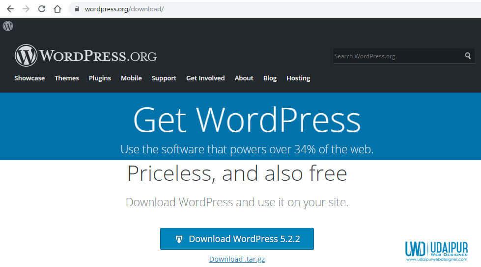 download latest wordpress from wordpress org
