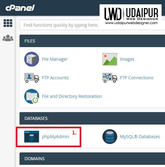 Change a WordPress password using PHPMyAdmin
