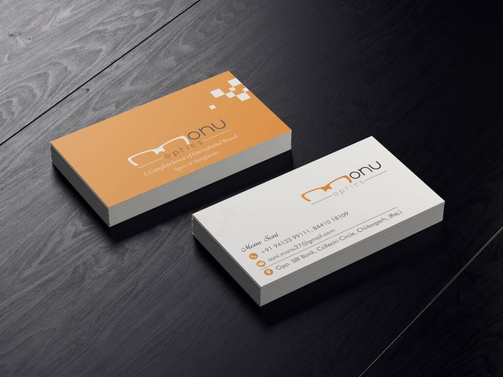 business cards designer in udaipur